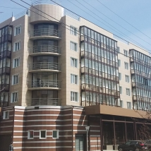 Residential house with community infrastructure and facilities in Tomsk
