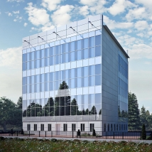 Total building renovation in Tomsk