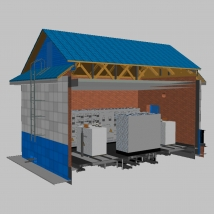 "Renovation of electric substation (""Gasprom"" OOO)"
